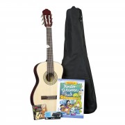 Voggenreiter Guitarra para niños Set 1/2 Natur