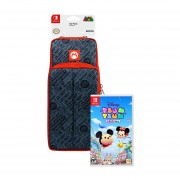 Bolso Switch Go Pack Mario Edition + Disney Tsum Tsum Festival Switch