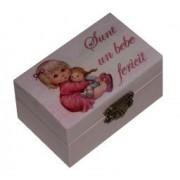 Cutiuta pentru prima suvita sau primul dintisor Fetita Little Angel