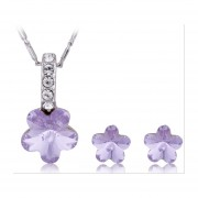 Set Palmas De Reyna Alice Purple - Morado