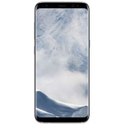 "Telefon Mobil Samsung Galaxy S8, Procesor Octa-Core 2.3GHz / 1.7GHz, Super AMOLED Capacitive touchscreen 5.8"", 4GB RAM, 64GB Flash, 12MP, 4G, Wi-Fi, Android (Arctic Silver) + Cartela SIM Orange PrePay, 6 euro credit, 4 GB internet 4G, 2,000 minute nationa"