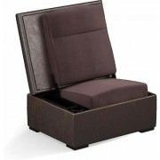 Salamander Designs JumpSeat Ottoman Premium Leather- Bark