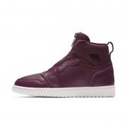 Chaussure Air Jordan 1 High Zip Premium pour Femme - Pourpre