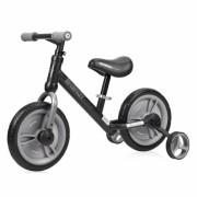 Bicikl Balance Bike ENERGY 2 u 1 Black & Grey