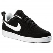 Pantofi NIKE - Court Borough Low 838937 010 Black/White
