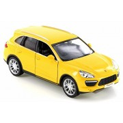 RMZ City Porsche Cayenne Turbo, Yellow - 555014 Diecast Model Toy Car