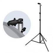 ELECTROPRIME Light Stand Tripod Clip Studio Photo Background Reflector Disc Holder Clamp
