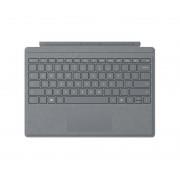 Microsoft Surface Pro Signature Type Cover Tastiera con trackpad Platino