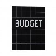 Budgetbok, Svart