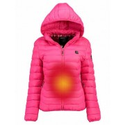 Geographical Norway Damen-Parka «Warm up» von Geographical Norway, fuchsia