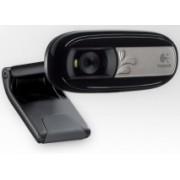Logitech Webcam C170, 5MP, 640 x 480 Pixeles, USB 2.0, Negro