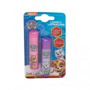 Nickelodeon Paw Patrol Lovely Lip Balms zestaw Balsam do ust 4,2 g + Balsam do ust 4,2 g Vanilla dla dzieci