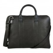 DSTRCT Fletcher Street Business Bag Black 13 inch