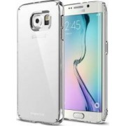 Skin Ringke Samsung Galaxy S6 Edge Plus G928 Slim Transparent + Folie Protectie