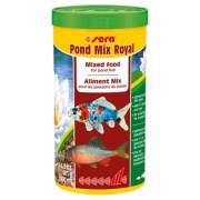 Sera Pond Mix Royal 1L, 185gr, 7100, Hrana pesti iaz fulgi
