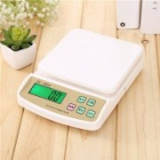 Zeom New Digital Electronic SF 400A 1 GRM TO 10Kg Kitchen Weighing Scale (White) Weighing Scale(White)