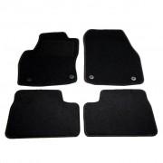 vidaXL Conjunto de tapetes para carro 4 pcs Opel Astra H