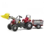 811397 RT con ruspa e rimorchio Rolly Toys