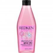 Redken - Diamond Oil - Glow Dry Detangling Conditioner - 250 ml