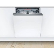 Bosch Serie 6 SMV68MD00G Fully Integrated Standard Dishwasher - Stainless Steel Control Panel with Fixed Door Fixing Kit - A+++ Rated