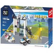 Joc constructie Blocki, Statie politie, 193 piese