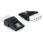Adattatore di Alimentazione 4 pin Molex F a SATA 15 pin F con...