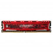 MEMORIA CRUCIAL DDR4 4GB 2666MHZ BALLISTIX SPORT RED CL16