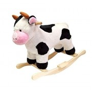 Best Gift Cow Plush Rocking Animal HAPPY TRAILS