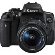 Canon EOS 750D + 18-55mm IS STM - Man. ITA - 2 Anni Di Garanzia In Italia - Pronta Consegna