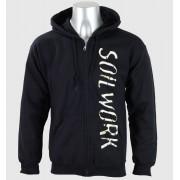 sweat-shirt avec capuche pour hommes SoilWork - Logo-Infinite - Just Say Rock - SWK149