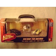 Johnny Lightning Head To Head 1966 Shelby Cobra 427 And 2005 Ford Gt 2 Car Box Set