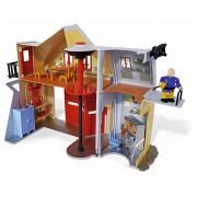 Sediul central al pompierului Sam cu 2 figurine