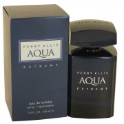 Perry Ellis Aqua Extreme Eau De Toilette Spray 3.4 oz / 100 mL Men's Fragrances 535417