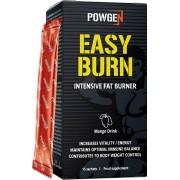 PowGen Easy Burn Effektive Fettverbrennung an Ruhetagen Grüner Kaffee, Kolanuss- und Ingwer-Extrakt, Vitamin B3 Mangogeschmack 15 Beutel PowGen