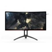 "AOC Gaming AG352UCG6 pantalla para PC 88,9 cm (35"") Ultra-Wide Quad HD LED Curva Mate Negro, Rojo"