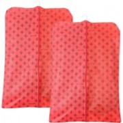 Pretty Krafts Foldable Non Woven Coat Cover F1538HS_Red2(Red)
