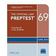 The Official LSAT Preptest 69: June 2013 LSAT, Paperback/Law School Admission Council