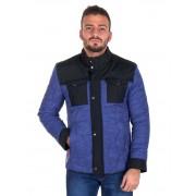 Giorgio Di Mare Winter Coat Sweater Sax GI8196667