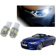 Auto Addict Car T10 5 SMD Headlight LED Bulb for Headlights Parking Light Number Plate Light Indicator Light For BMW 6 Series