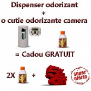 5% Discount la dispenser odorizant + odorinzate camera