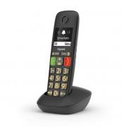 Siemens Gigaset E290 Telefono analogico/DECT Nero Identificatore di chiamata