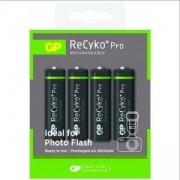 Акумулаторна Батерия GP R6 AA 2600mAh NiMH 4 бр. 270AAHCNP-GB4 Recyko PRO, GP-BR-R6-2700-RECY-4PK-PRO