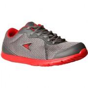 Power MenS Edge Inb314 Grey Lace-Up Sport Shoes