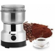 CPEX Stainless Steel Electric Coffee Bean Grinder Home Grinding Milling Machine for Home Kitchen Cafe 3 Cups Coffee Maker(Silver)