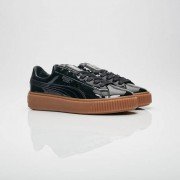 Puma Platform Patent Wns For Women In Black - Size 39