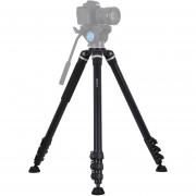 PULUZ Montaje trípode patas plegables 4 secciones cámara réflex digital