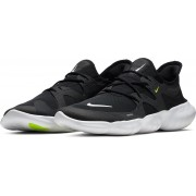 Nike Free Rn 5.0 Heren Sportschoenen - Black/White - Maat 45