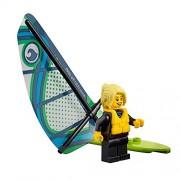 LEGO City Beachgoer MiniFigure: Windsurfer (w/ Board & Sail) 60153