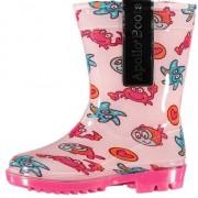 Geen Roze peuter regenlaarzen met zeedieren