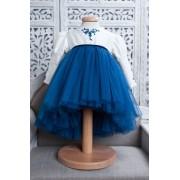 Rochita de lux Blue Kitty